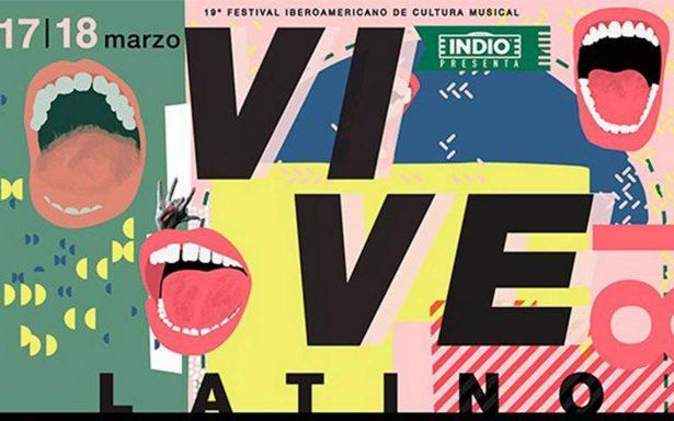 Aquí los artistas que estarán el sábado y el domingo en el Vive Latino 2018