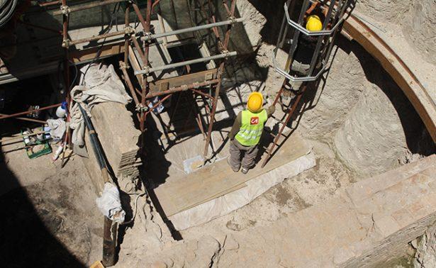 """Hallan en Roma """"escenario pompeyano"""" tras realizar excavaciones en el metro"""