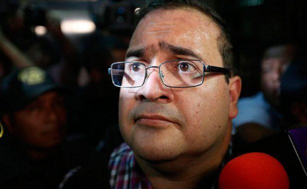 Javier Duarte pide un colchón, un ventilador y una lámpara para su celda