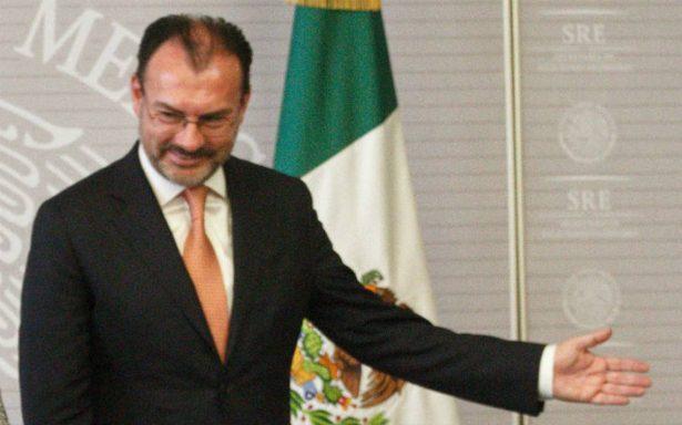 Videgaray participará en la reunión de Ministros de Relaciones Exteriores en Argentina
