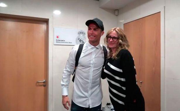 Julia Roberts, la ganadora del Clásico al conocer a CR7 y Messi