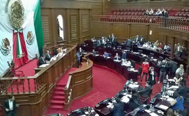 El Congreso de Michoacán aprobará Presupuesto de Egresos antes de que finalice el año
