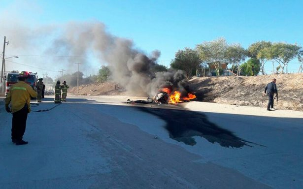 Se desploma helicóptero 'Pegaso' de la policía municipal de Tijuana