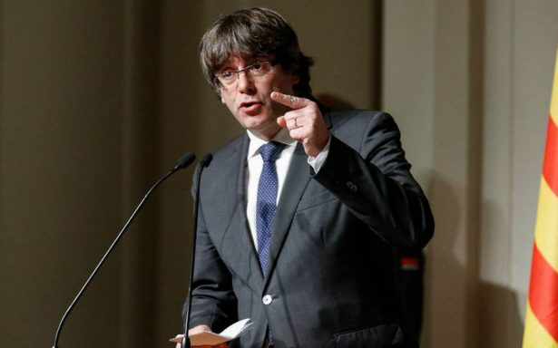 Puigdemont anuncia creación de gobierno legítimo en Cataluña