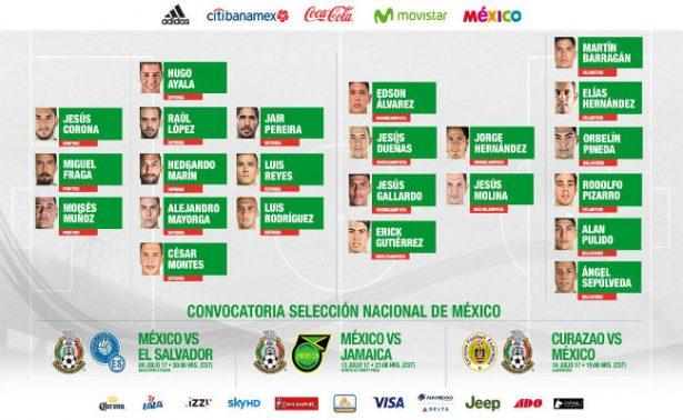 México revela su lista final para la Copa Oro