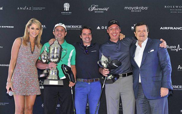 Festejaron la séptima edición del American Express Golf Cup Mexico