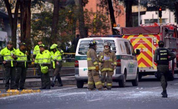 Ataque a puesto policial deja un muerto y seis heridos en Bogotá