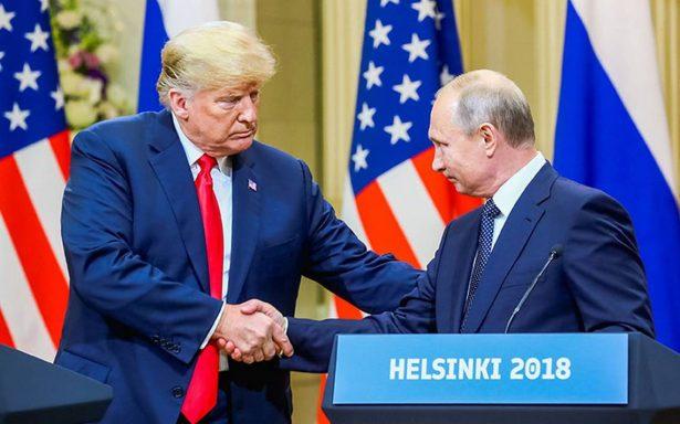 No veo razón por la que Rusia no esté detrás de injerencia en elecciones: Trump se retracta