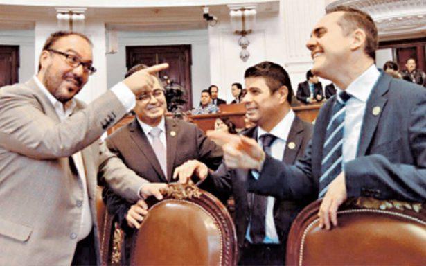 Diputados capitalinos aprueban leyes sin quórum y caen en la ilegalidad