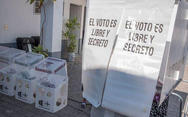 Frente pide al INE seguridad en proceso electoral de 2018