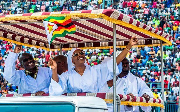 Grace, la mujer fatal de que desmoronó el poder en Zimbabue