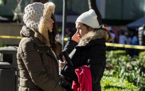 Prevén heladas en la CDMX; ambiente seco y frío prevalecerá en el resto del país