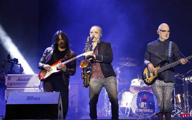 Caifanes ofreció un concierto en el Zócalo ante 120 mil asistentes
