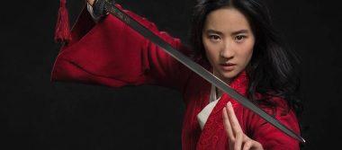 Mulan deja de ser un dibujo animado para ser una guerrera mujer de carne y hueso