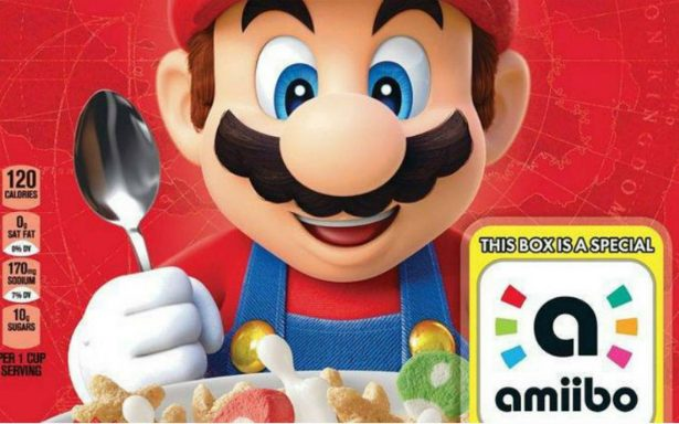 Mario Bros podría tener su propio cereal
