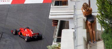 El piloto Daniel Ricciardo el más rápido en los entrenamientos libres del Gran Premio de Mónaco