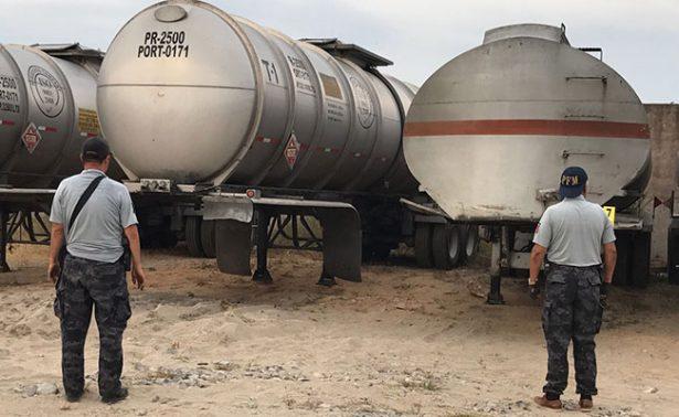 Aseguran 111 mil litros de Hidrocarburo en Puebla y Veracruz