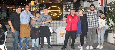 Firma mexicana de hamburguesas realizó un evento especial