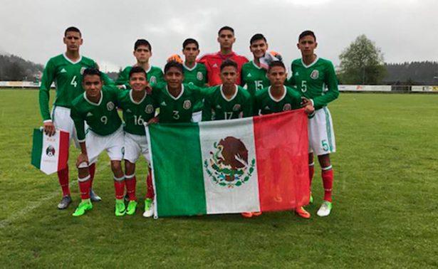 El Tricolor Sub-15 consigue su boleto a semifinales
