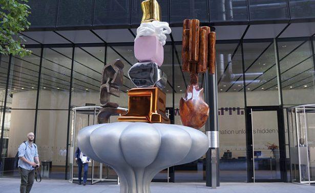Esculturas al aire libre sorprenden a la City of London