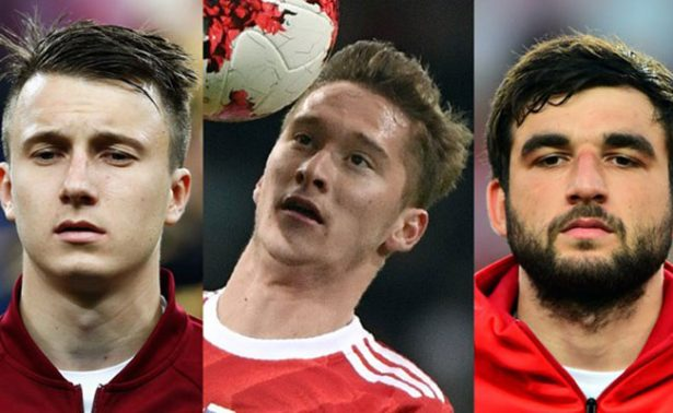 La selección Rusa presentará tres nuevas estrellas