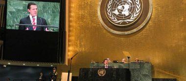 Peña Nieto llama a tomar medidas y acciones en defensa de migrantes