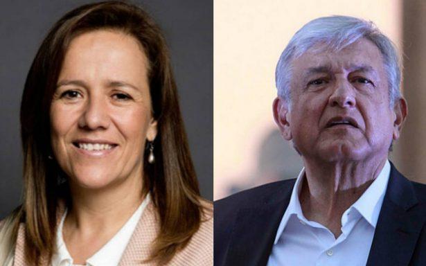 López Obrador, el principal adversario de México: Margarita Zavala