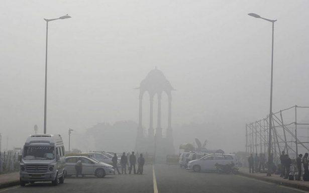 Impactantes niveles de contaminación en Nueva Dheli detienen a la ciudad