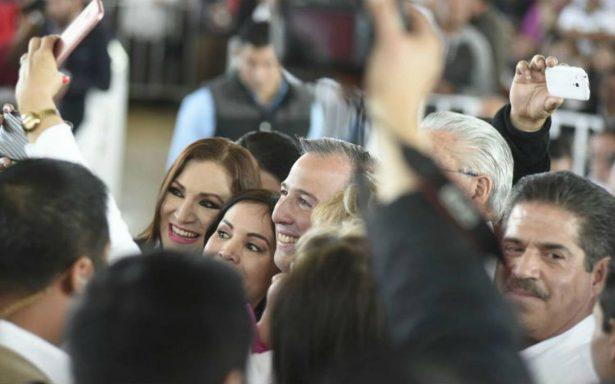 Meade sostendrá hoy encuentro con militancia priista de Aguascalientes