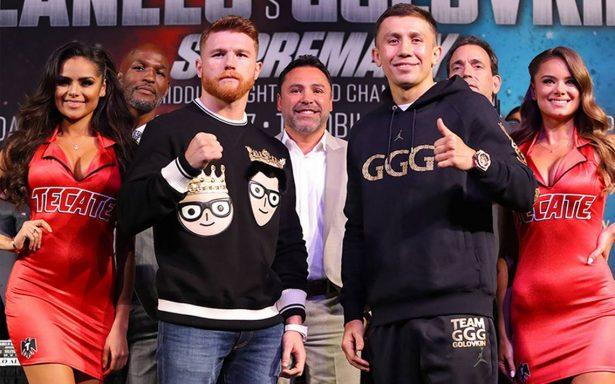 """El """"Canelo"""" y """"GGG"""", gran pelea"""