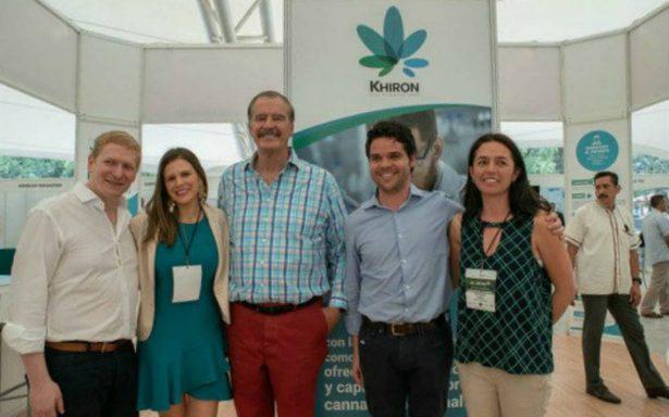 Vicente Fox ya tiene nuevo trabajo, será embajador de una marca de marihuana
