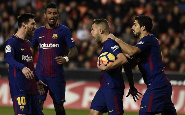 Barcelona golea al Murcia y avanza en la Copa del Rey