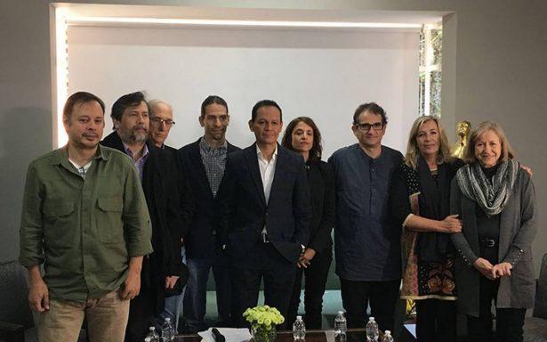 Ernesto Contreras pide apoyo para que se vea el cine mexicano