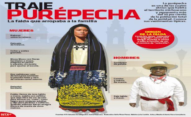 Herencia indígena, ícono del Estado de Michoacán