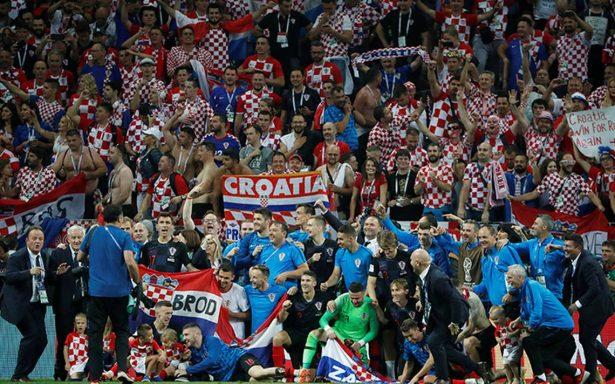 Croacia festeja su histórico triunfo y mayor logro en el futbol tras derrotar a Inglaterra