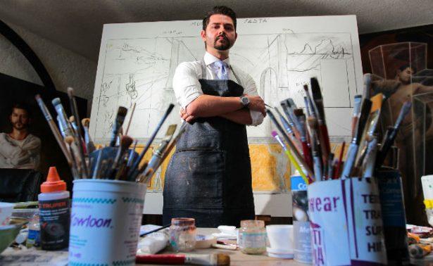 ¡Muralista mexicano creará obras en Roma e Ibiza!