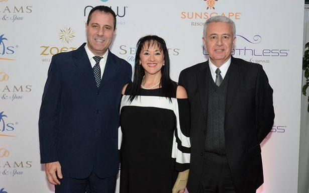 La cadena de hoteles de lujo AMresorts celebra el crecimiento y éxito logrado