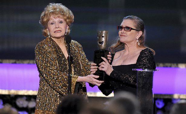 Debbie Reynolds y Carrie Fisher juntas hasta la muerte