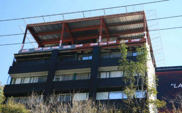 Autoridades garantizan seguridad para demoler helipuerto en la Condesa