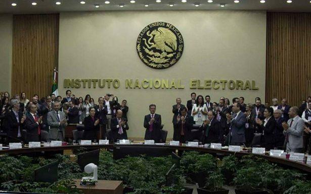INE nombra a nuevos interventores para supervisar liquidación del Panal y PES