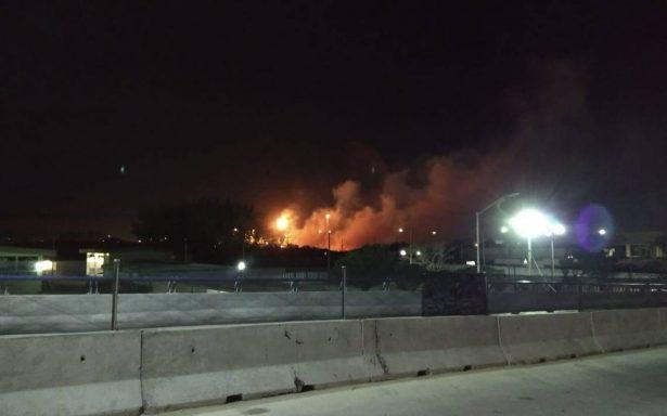 Incendio en refinería Francisco I. Madero de Tampico activa alerta