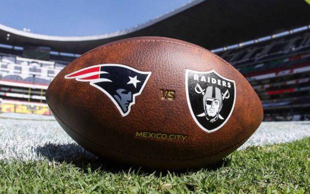 Raiders vs Patriots: prueba de fuego para organizadores de la NFL en México