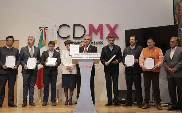 Sin Morena, partidos firman pacto de civilidad e invitan a delegados a sumarse