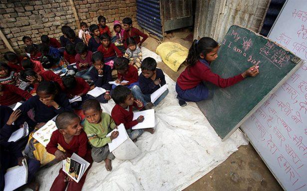 Más de 264 millones de niños no van a la escuela