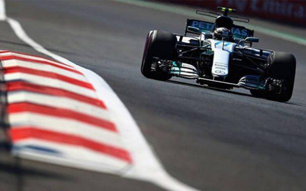 Valtteri Bottas, el mejor en la primera practica de la F1