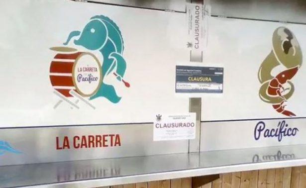 Clausuran restaurantes que delegado de Tláhuac tenía en Querétaro