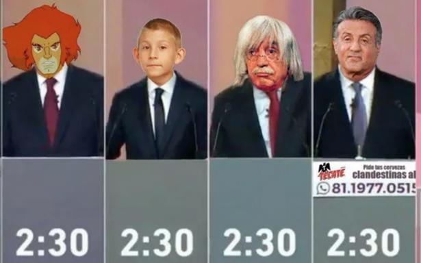 El gran final: estos son los memes del tercer debate presidencial