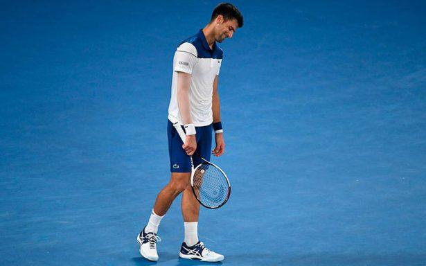 Djokovic, eliminado ante la nueva generación en el Abierto de Australia