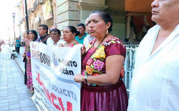 Juchitán está abandonado desde los sismos de septiembre, afirma la edil