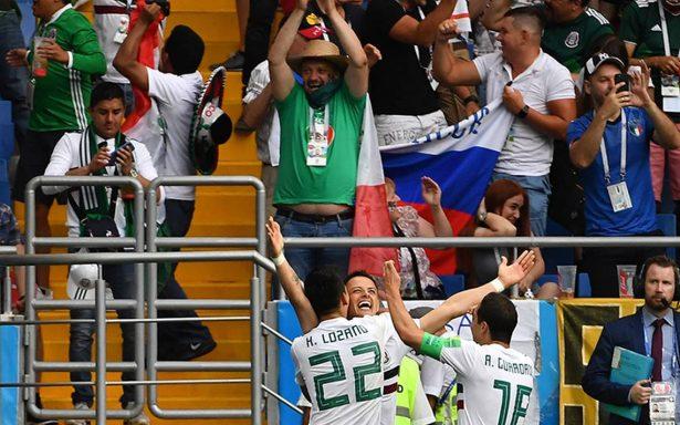 ¡Héroe! Chicharito Hernández marca por tercer Mundial consecutivo